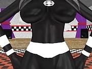 MMD FNIA Marionette Bubble Butt!