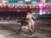 Motoko Kusanagi vs Kasumi Dead or Alive 5 Last Round