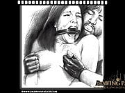 Very realistic and super kinky bondage porn cartoons fetish