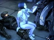 Cortana Threesome