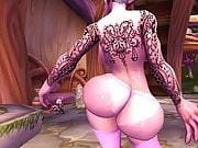 Night Elf Lapdance